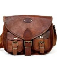 """TRH2 12"""" Skórzana torebka damska na ramię ROWHIDE™"""